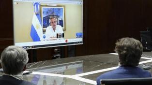 Fernández se reunió con empresarios australianos por inversión en energías renovables en Argentina