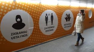 Polonia extiende la cuarentena nacional en medio de un aumento de los contagios