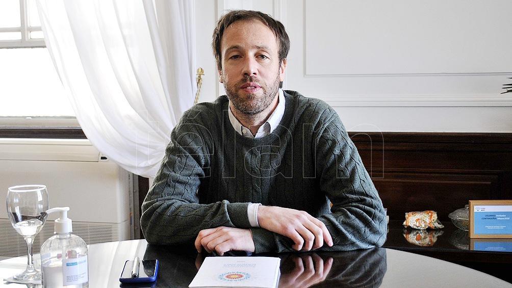 Pablo López, ministro de Hacienda y Finanzas de la Provincia de Buenos Aires