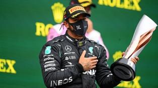 Hamilton ganó en Turquía e igualó el récord de campeonatos de Schumacher