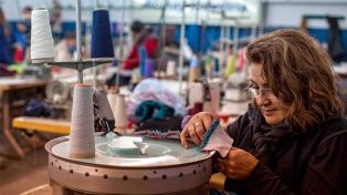 La industria textil ya está un 20% por encima de los niveles prepandemia