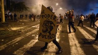 Abren una investigación contra Merino por las muertes durante las protestas