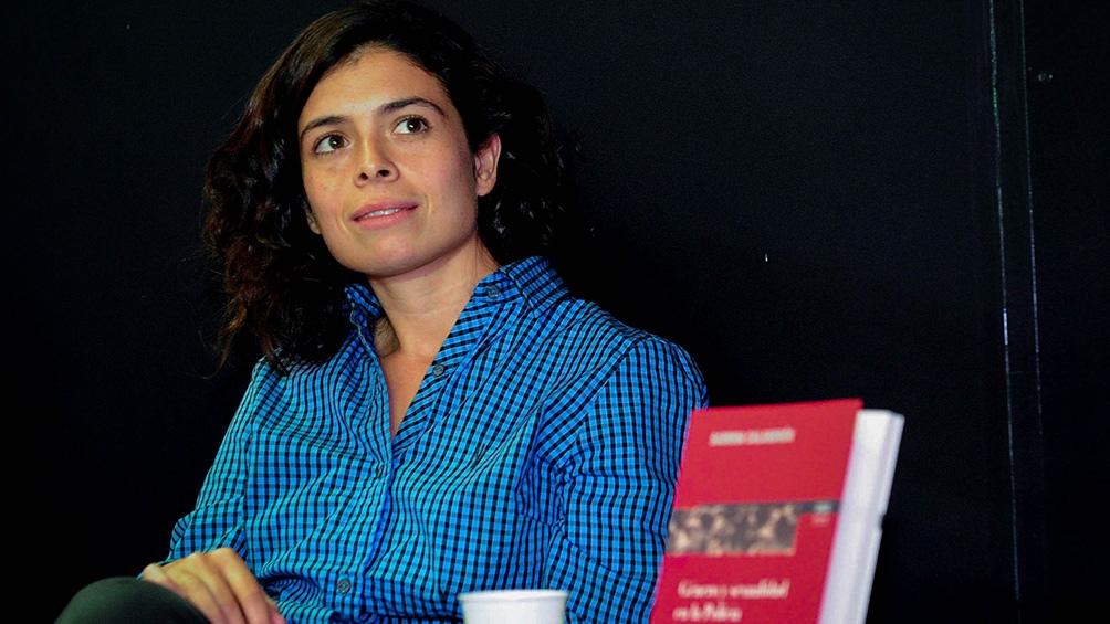 Sabrina Calandrón,  a cargo de los temas de género en el Ministerio de Seguridad.