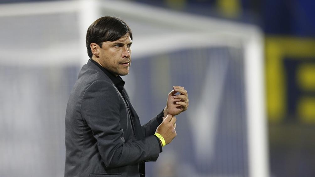 """El uruguayo Alexander Medina, entrenador de la """"T"""", aplicará la rotación en el equipo."""