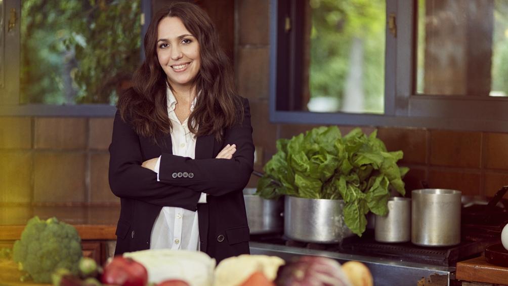 Narda Comedor, su restaurante en el Bajo Belgrano, rinde culto a las frutas y verduras de estación.