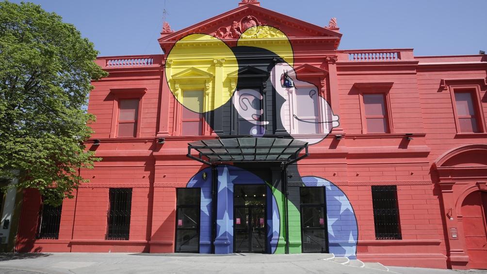 El convento reciclado por Clorindo Testa vuelve a ser sede de actividades culturales.