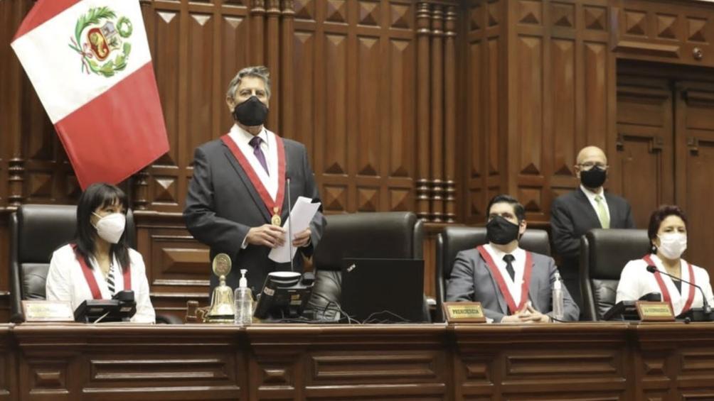 Sagasti es el nuevo presidente de Perú