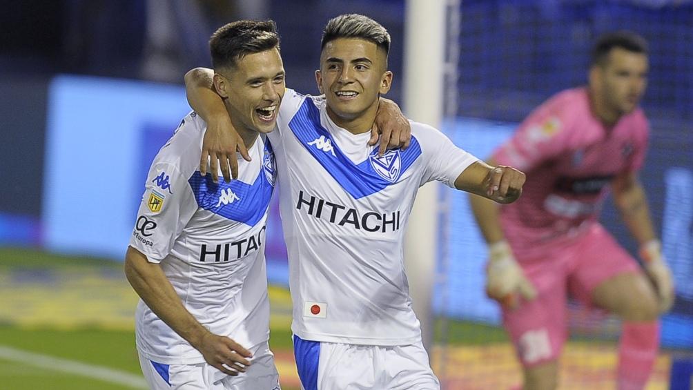 Triunfo con gol de Almada