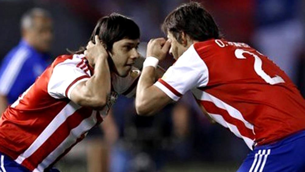Los jugadores de la Selección paraguaya recibieron la primera dosis de la Sinovac.