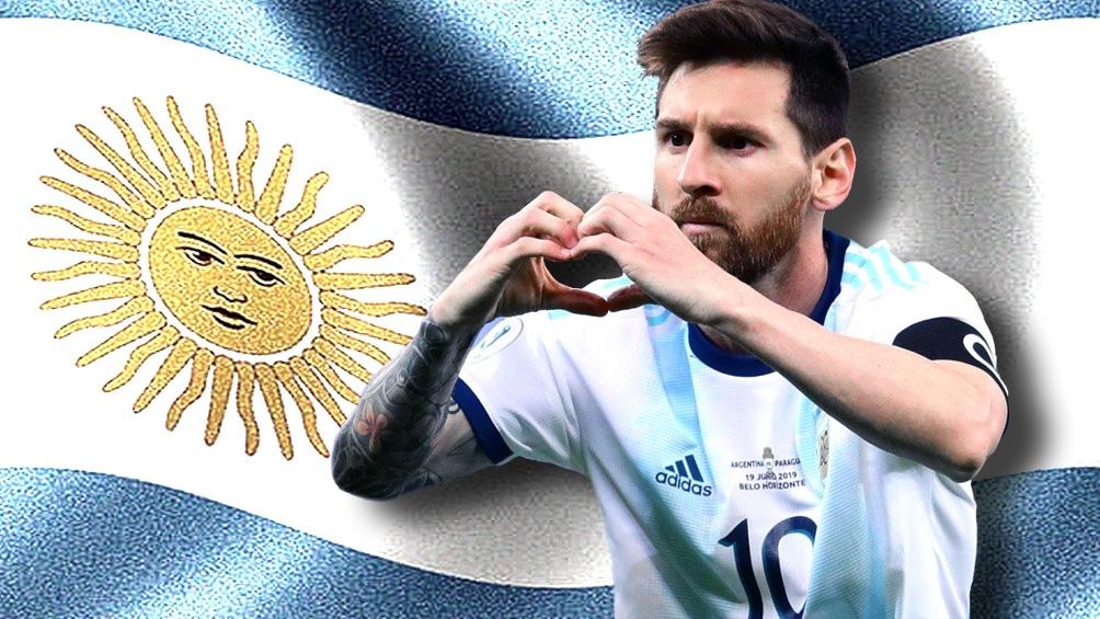 Messi, como siempre, es la máxima esperanza argentina.