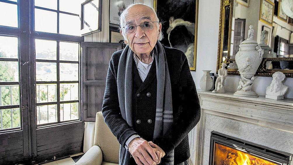 Francisco Brines fue distinguido con el Premio Cervantes.