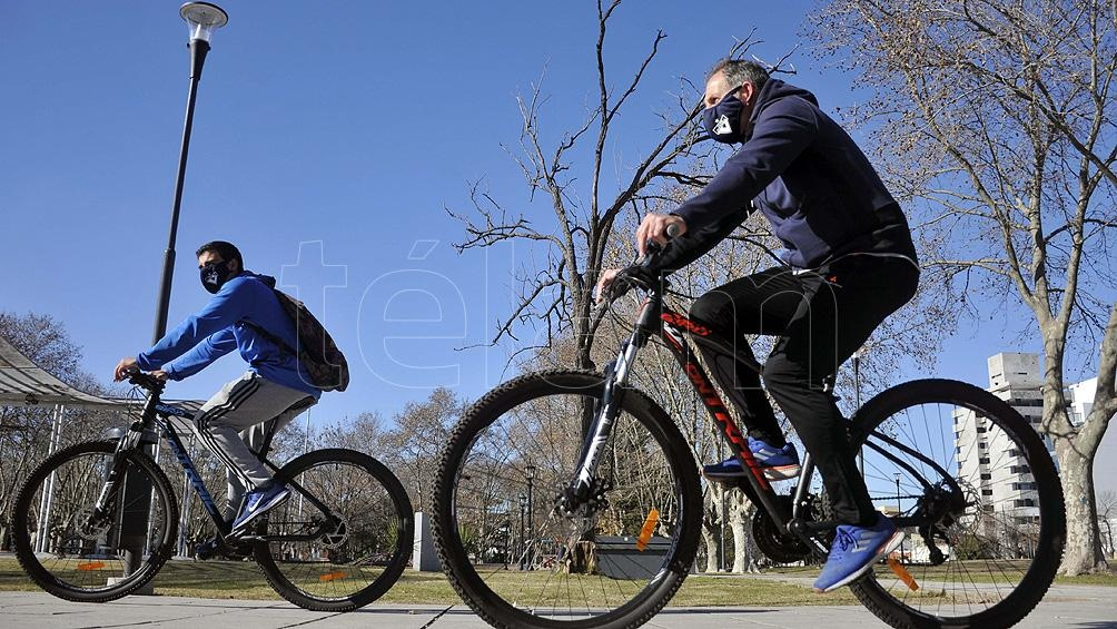 El uso de la bicicleta creció un 83% durante la cuarentena en el país