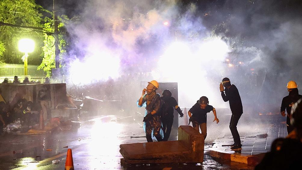 Durante los enfrentamientos seis personas resultaron heridas de bala