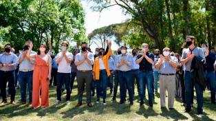 Ministros e intendentes festejaron el Día de la Militancia Peronista