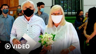 Con turnos y barbijos, volvieron los casamientos en toda la provincia de Buenos Aires