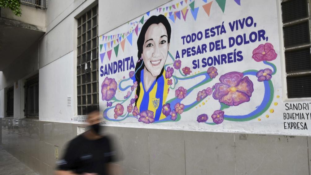 """Sandra tenía 19 años y estaba en la murga """"El Rechifle de Palermo""""."""