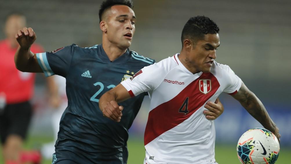 Perú viene de caer como local ante Argentina en Lima (foto archivo)