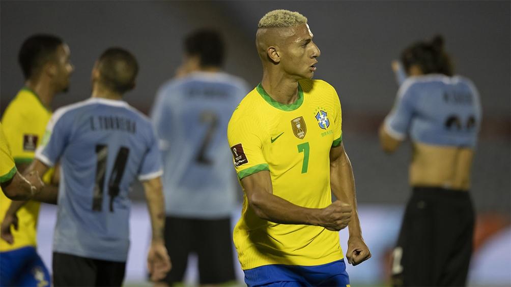 Brasil ganó y encabeza las eliminatorias mundialistas rumbo a Qatar 2022 (Foto: Lucas Figuereido /CBF)