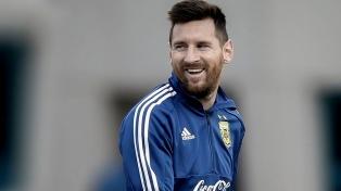 Lionel Messi recibió el Konex de Brillante