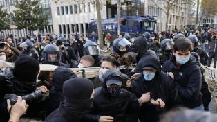 La policía alemana detuvo a 350 personas en marcha contra restricciones por el coronavirus