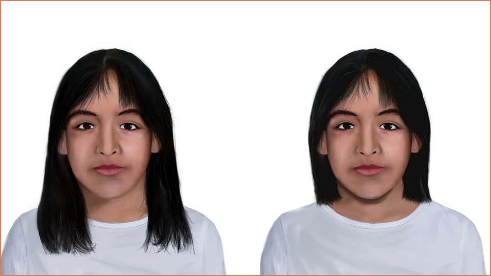 La proyección de Sofía Herrera, tenía ters años y ahora tendría 16.