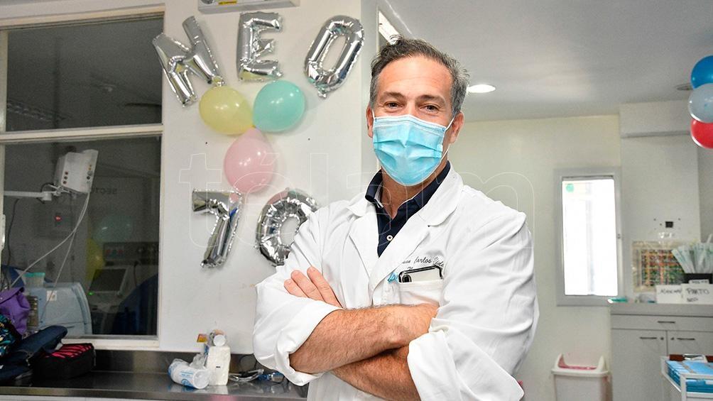 En el Hospital trabajan 330 profesionales, y más de 200 alumnos de grado y posgrado desarrollan su formación.