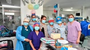 Cafiero y Gómez Alcorta recorrieron el Hospital Materno Infantil Ana Goitia
