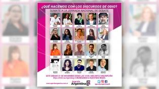 Agenda Argentina lanza la jornada virtual �Qué hacemos con los discursos de odio�