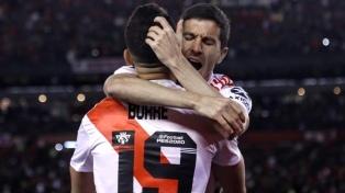 """""""Nacho"""" Fernández y Borré, concentrados para el partido con Banfield"""