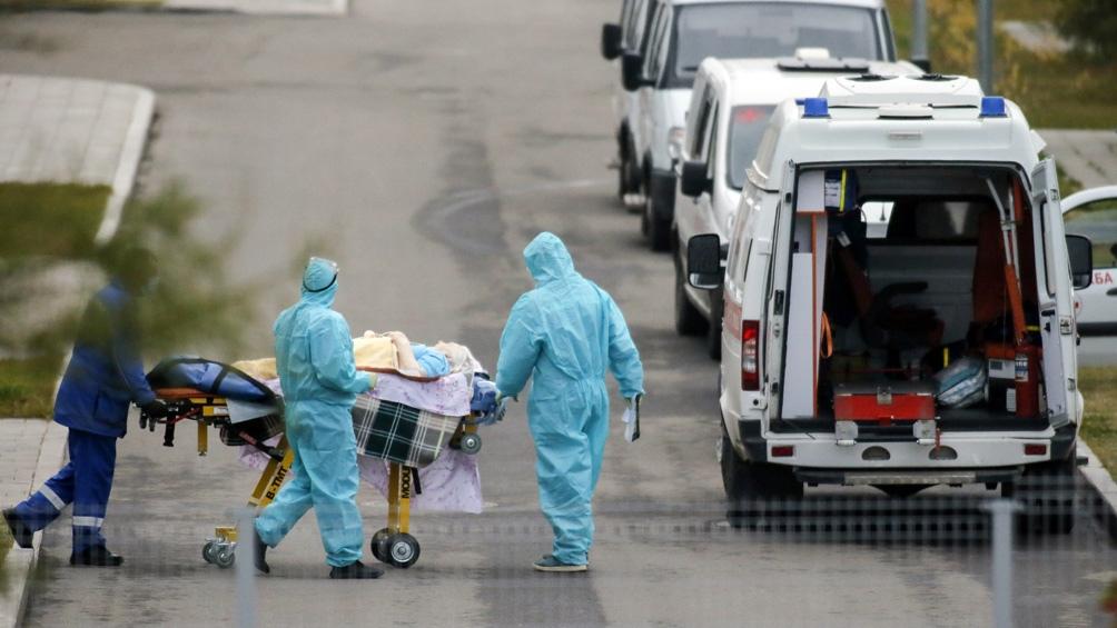 Rusia registra récord diario de muertos desde el inicio de la pandemia