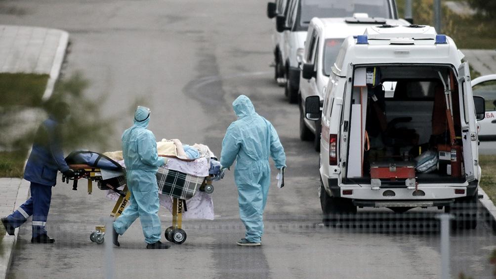 En noviembre se contabilizaron 25.788 muertes por el virus.