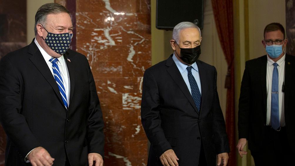 Pompeo es el primer secretario de Estado norteamericano en visitar una colonia israelí en Cisjordania.