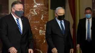 Pompeo visitó colonias israelíes que condena la ANP y defendió el legado de Trump en la región