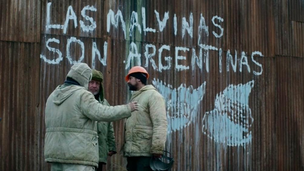 Los argentinos, apenas desembarcados