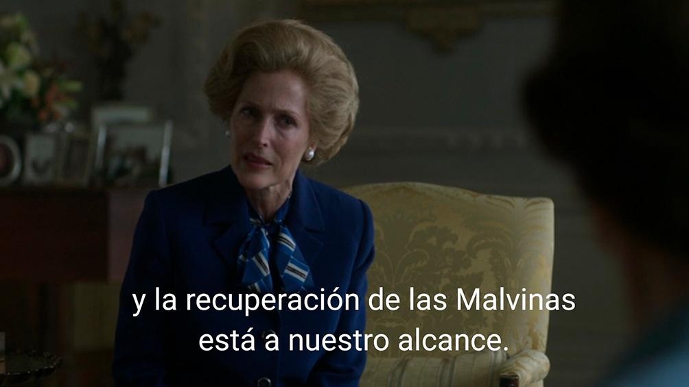 Thatcher -según Anderson- y la mano dura