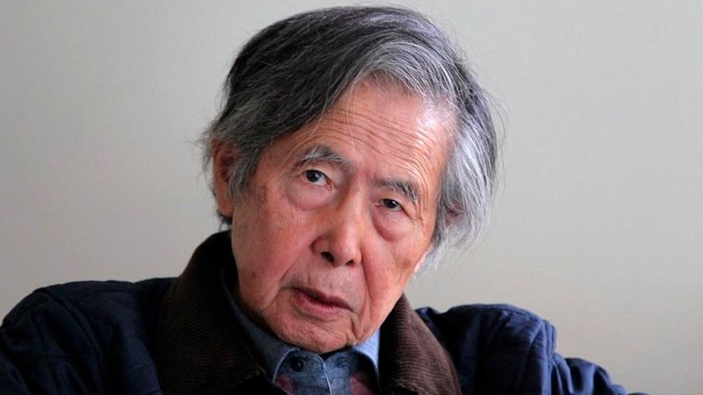 Fujimori está cumpliendo una condena de 25 años de prisión