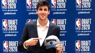 Leandro Bolmaro está en los planes de Minnesota Timberwolves de la NBA