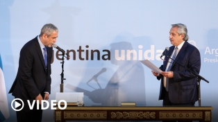 Ferraresi asumió como ministro de Desarrollo Territorial y Hábitat