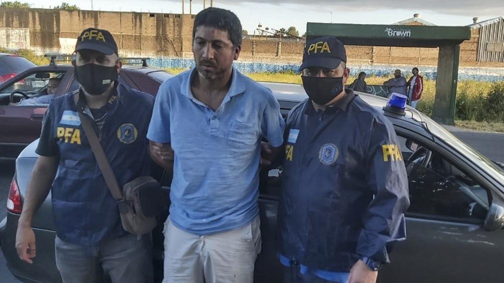 Diego Gastón Guida era buscado por el doble crimen y fue detenido en Don Orione, Almirante Brown.