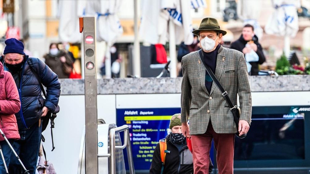 El pico de infecciones en un día desde el comienzo de la pandemia en Alemania se alcanzó el viernes pasado.