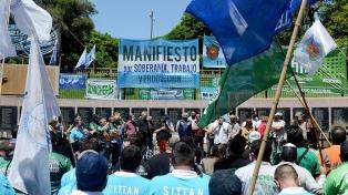 Movimientos sociales y gremios se movilizaron por el Día de la Soberanía