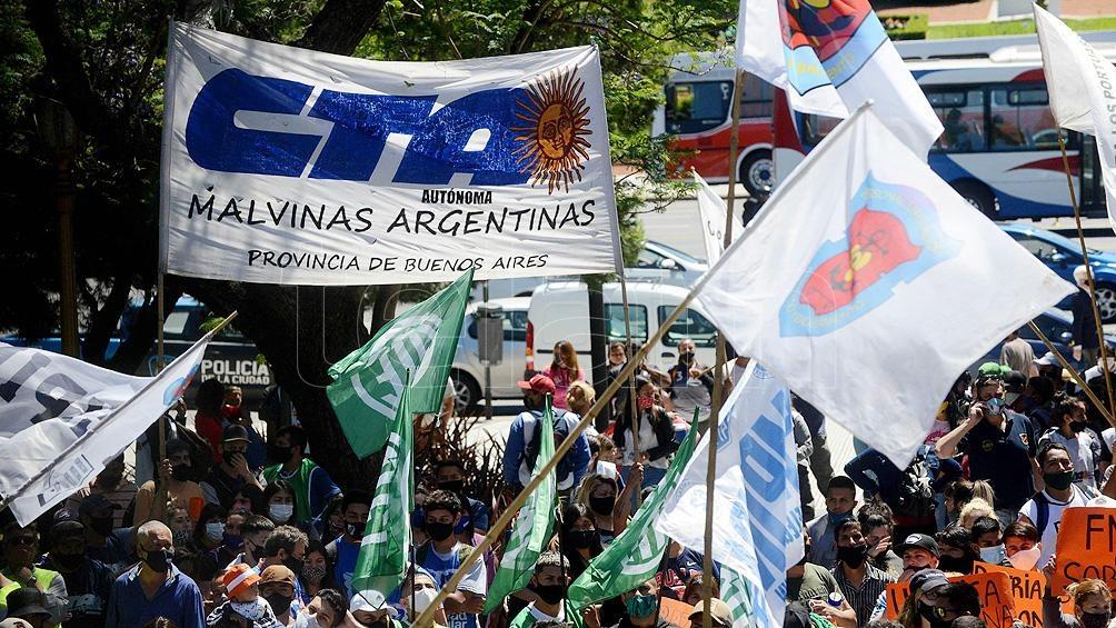 """Durante el acto reafirmaron """"la necesidad de una patria con soberanía, trabajo y producción para salir de la crisis"""""""