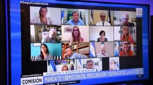 El oficialismo pasó a la firma el dictamen para avanzar con la reforma del Ministerio Público