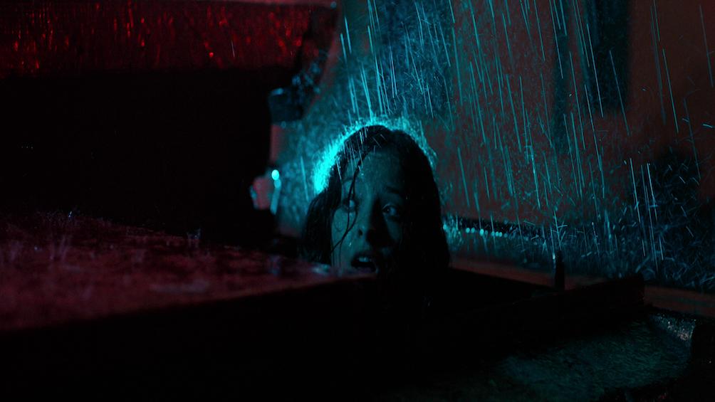 Espeluznante relato dentro de una sala de cine una tarde lluviosa.