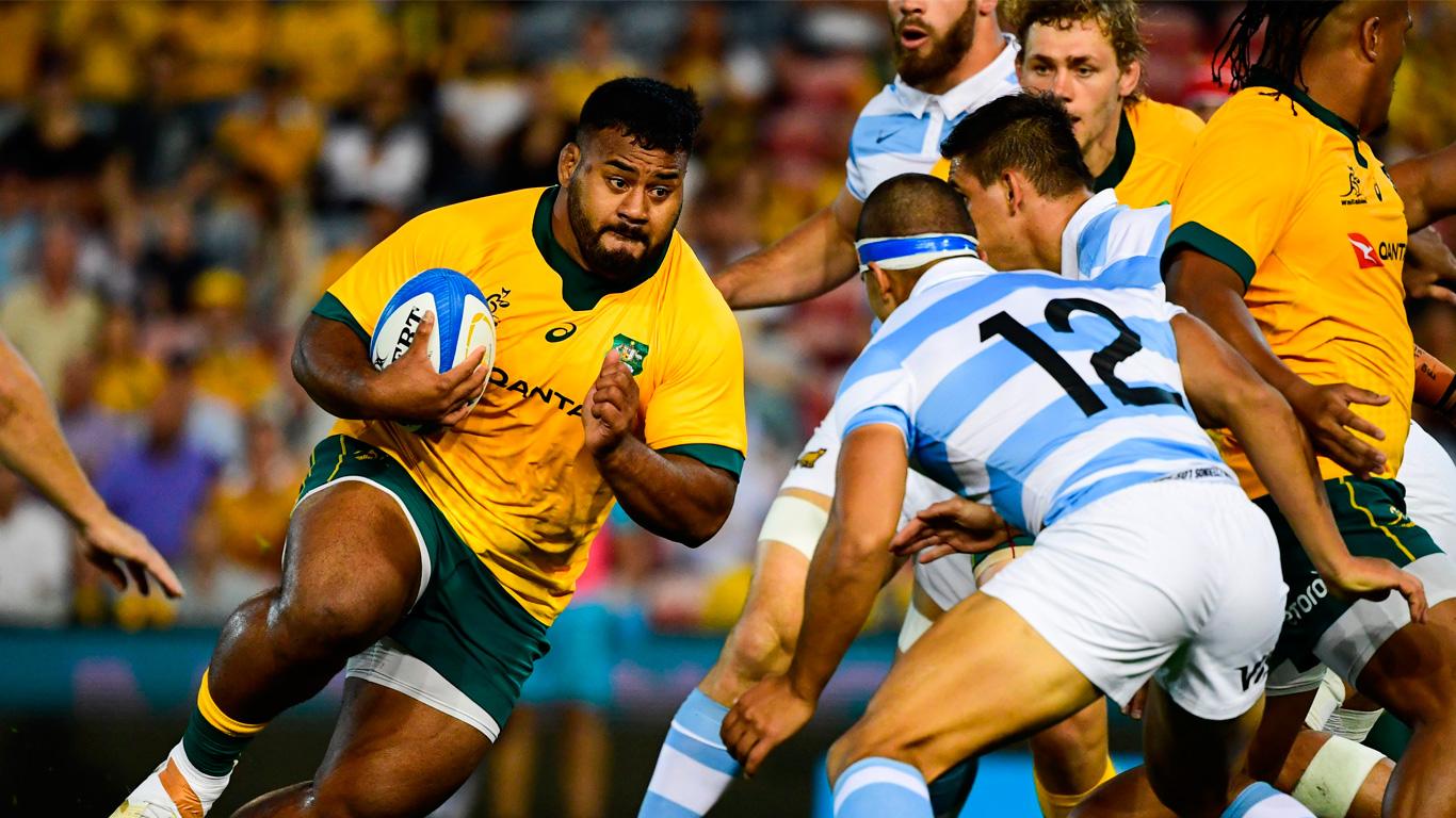 Los Pumas, de menos a más, igualaron ante Australia