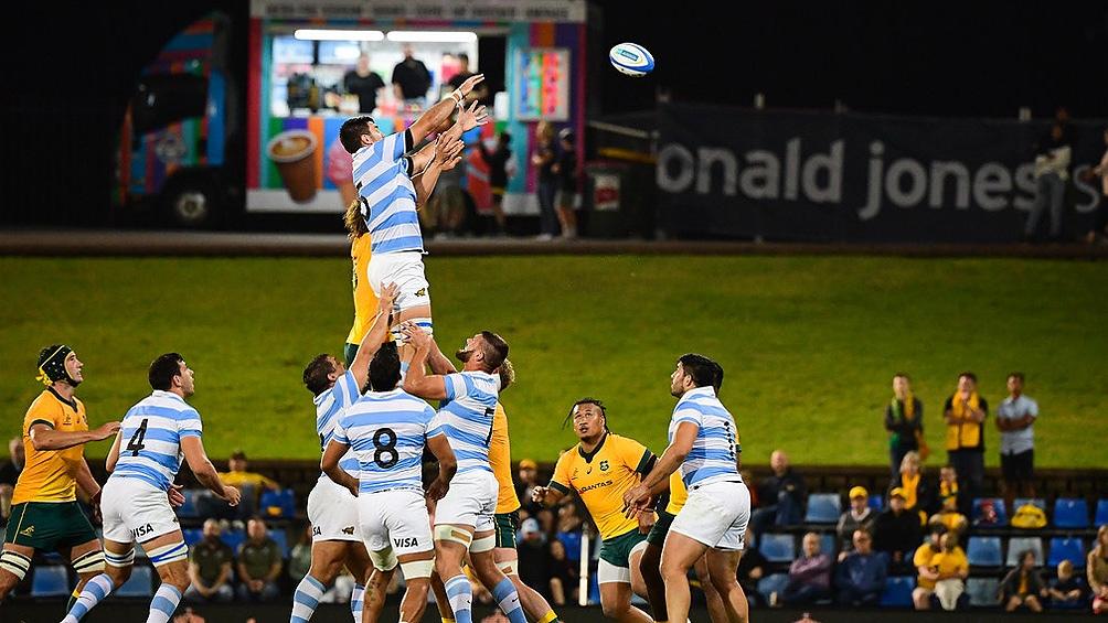 Argentina, de menos a más, logró un valioso empate ante Australia en el Tres Naciones (Foto: Prensa UAR)