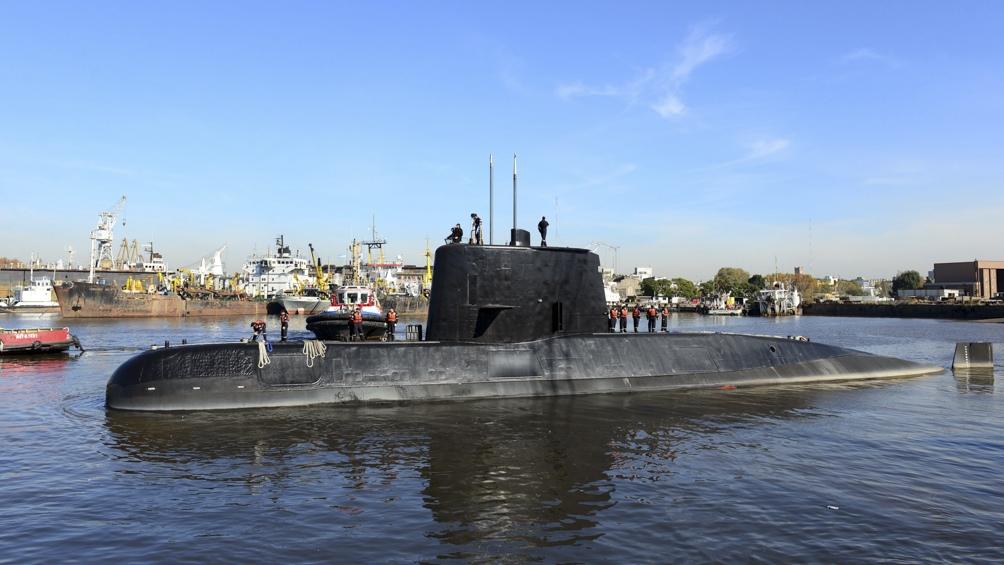 El naufragio del submarino, en el que murieron sus 44 tripulantes, ocurrió en 2017 .