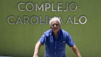 Edgardo, el padre de Carolina Aló.