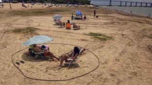 Reabrieron las playas de Rosario con estrictos protocolos sanitarios
