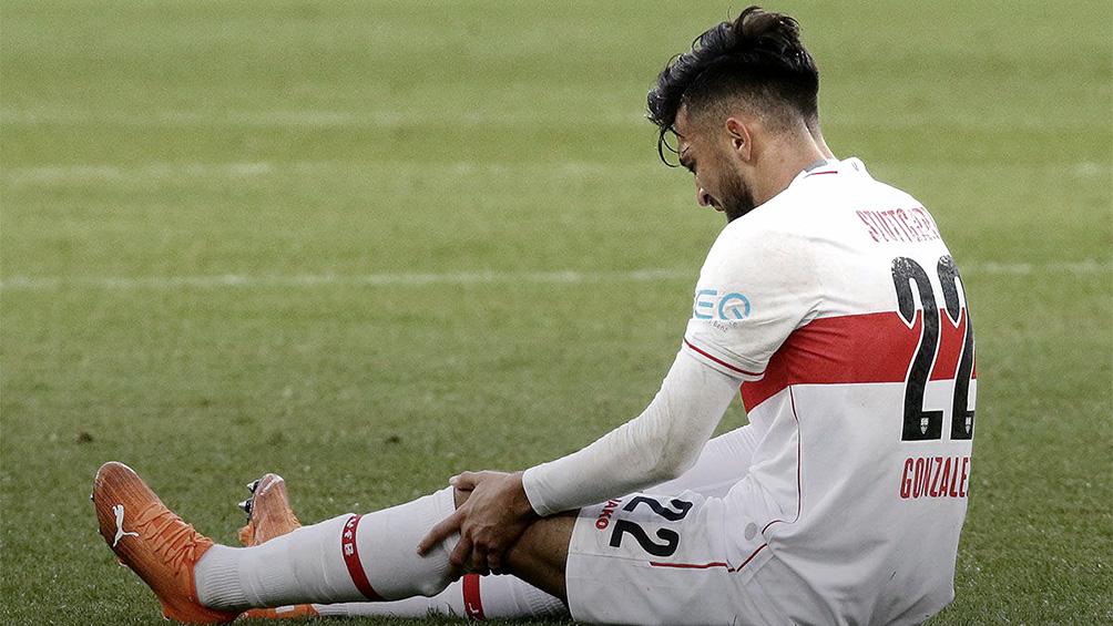 Nicolás González estará entre dos y tres semanas inactivo